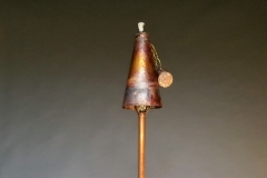Copper Lighting Tiki Torche Cap Off