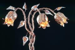 Copper Lighting Trumpet Vine