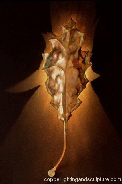 artscapelighting-copper-art-ArtScape_Oak Leaf