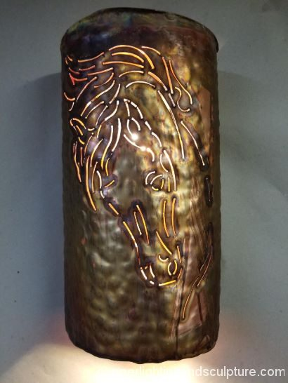 Horse head sconce 2
