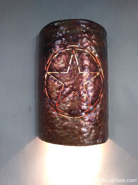 artscapelighting-copper-art-Lone Star Sconce