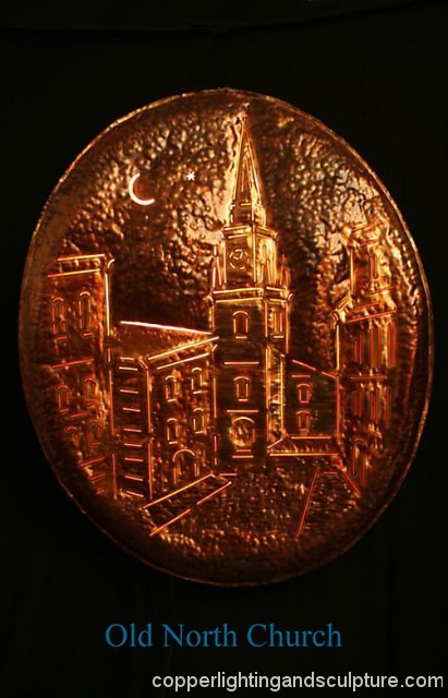 artscapelighting-copper-art-Old North Church