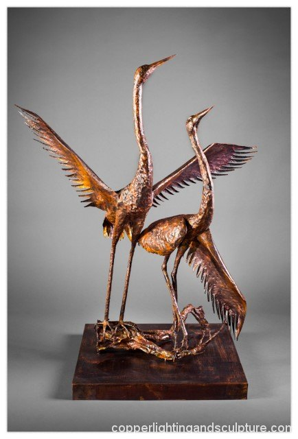 artscapelighting-copper-art-sandhill pair