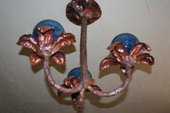 artscapelighting-copper-art-3 Stem Chandelier