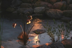 artscapelighting-copper-art-Cattail Bouquet Koblas