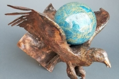 artscapelighting-copper-art-Eagle Wall Lamp