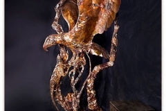 artscapelighting-copper-art-Eagle with Lizard profile