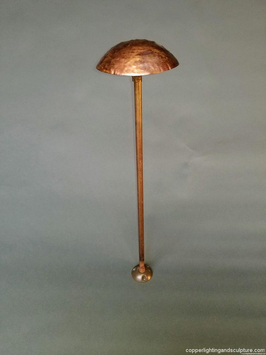 Copper Lighting Mushroom 6 inches