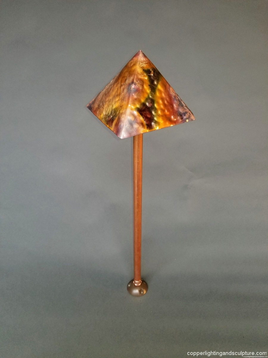 Copper Lighting Pyramid