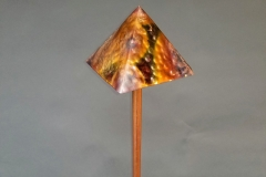 Copper Lighting Pyramid